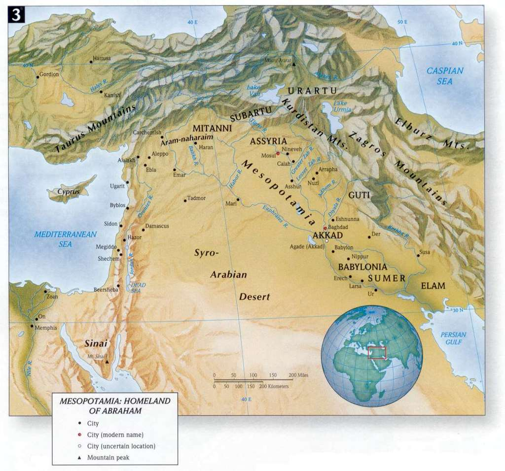 Bible land maps new testament christians the face of the ancient near east gumiabroncs Image collections