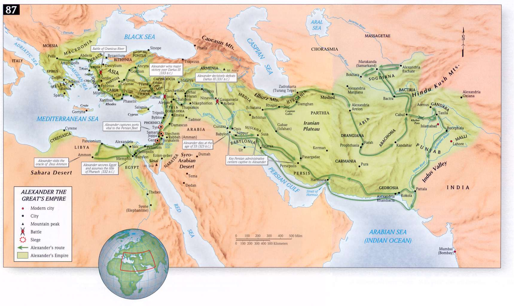 roman empire and modern islamic indian